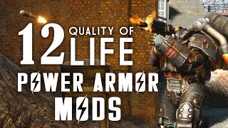 12 Quality of Life Power Armor Mods