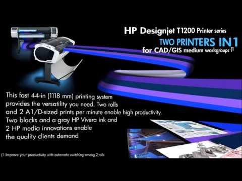 Plotter HP Designjet T1200-HD MFP - Casa Print canal oficial Big Impression