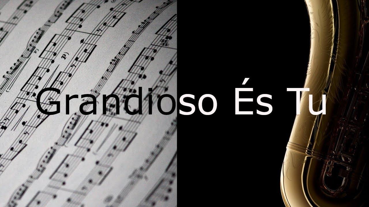 Partitura para Sax Alto - Grandioso És Tu - Harpa Cristã nº 526 - Clássicos  do Gospel | Projeto Louvai | Tudo para Ministério e Louvor