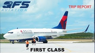 TRIP REPORT | Delta Airlines - 737 700 - Key West (EYW) to Atlanta (ATL) | First Class