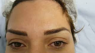 Messy Realism Microblading Eyebrows by El Truchan @ Perfect Definition