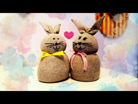DIY Coniglietti Pasquali decorazioni per la casa | Easter bunnies home decor 🐇💗🐇