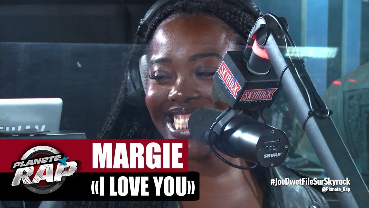 """[EXCLU] Margie """"I love you"""" #PlanèteRap"""