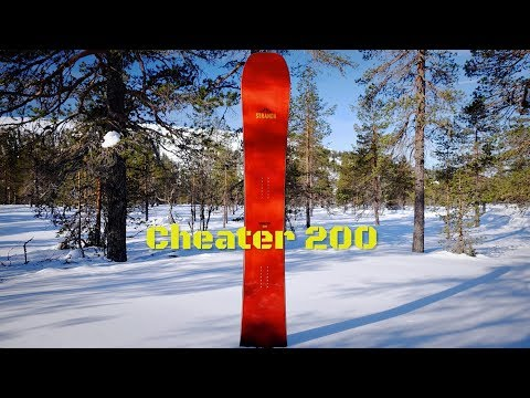 Stranda Snowboards – Cheater 200 – review