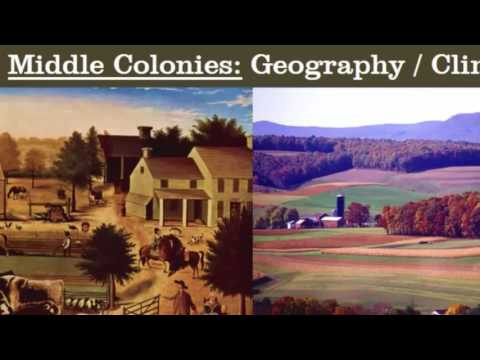 Download 13 Colonies: Comparing Regions  New England, Middle, and Southern Mp4 HD Video and MP3