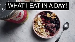 VLOGG #3 - WHAT I EAT IN A DAY/FULL DAY OF EATING + BENPASS (ENG SUBS)