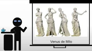 The Venus de Milo and Old Market Woman
