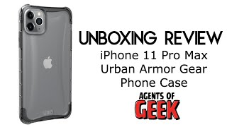 Unboxing Review - iPhone 11 Pro Max Urban Armor Gear Plyo Series Phone Case