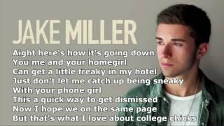 Jake Miller   Dazed And Confused Lyrics