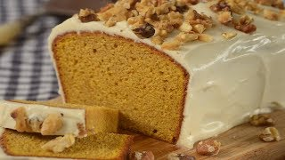 Pumpkin Pound Cake Recipe Demonstration - Joyofbaking.com