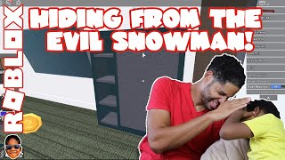 Roblox Murder Mystery 2 – Hiding From The Evil Snowman!