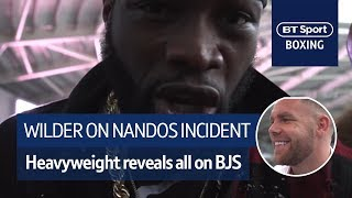 Deontay Wilder reveals what happened in Nandos with Billy Joe Saunders - Video Youtube