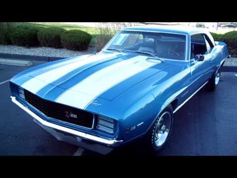1969 Chevrolet Camaro Z28 RS Quick Look
