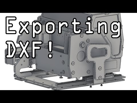 Fusion 360: How to Export as DXF File! - NYC CNC