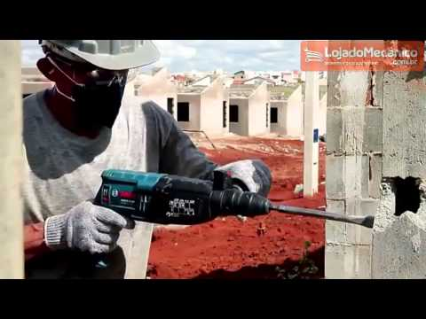 Martelo Perfurador/ Rompedor 820W 2,7J  com Maleta - Video