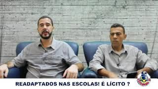GCM READAPTADO EM ESCOLA PODE?