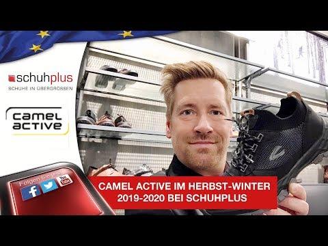 Mega coole große Schuhe bis 49 von Camel Active im Herbst-Winter 2019-2020 bei schuhplus