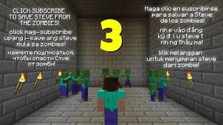 Minecraft NOOB vs. PRO: ZOMBIE MUTANT in Minecraft!