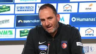 Pressekonferenz 1. FC Magdeburg Gegen 1. FC Heidenheim 0:0 (0:0)