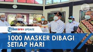Sukseskan PON XX Papua, BNPB Bagikan 1000 Masker Setiap Hari di Sejumlah Lokasi Venue Pertandingan