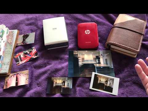 HP Sprocket vs. Selphy Vs. Instax, SP-2, Canon Mini Printers.