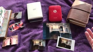 HP Sprocket Vs. Selphy Vs. Instax, SP-2, Canon Mini Printers.