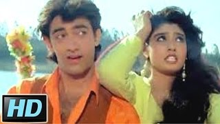 Elo Ji Sanam Hum Aa Gaye   Andaz Apna Apna Song   Raveena Tandon, Aamir Khan