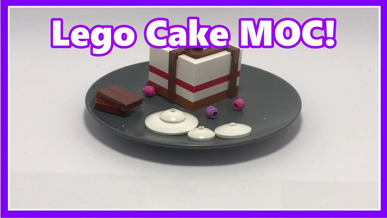 Cake and Berries! - Lego MOC Review
