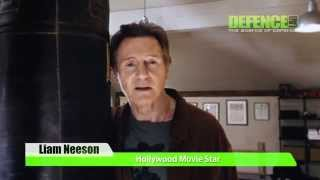 Liam Neeson Talking About Defence Lab Martial Arts & Andy Norman