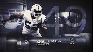 #49 Khalil Mack (LB, Raiders)   Top 100 Players of 2015