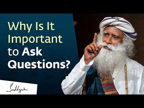 Why Is It Important to Ask Questions? 🙏 With Sadhguru in Challenging Times - 23 Aug
