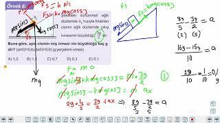 Eğitim Vadisi 11.Sınıf Fizik 5.Föy Newton'ın Hareket Yasaları 2 (İvmeli Hareket ve Etki Tepki Kuvveti) Konu Anlatım Videoları