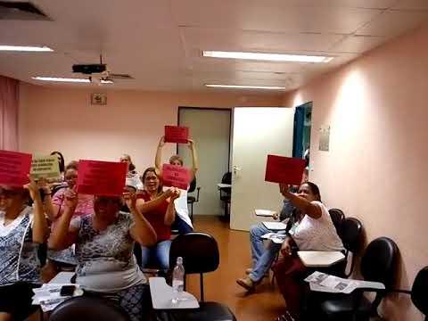 Reajuste Salaria e valorização da carreira é o que os trabalhadores exigem de Bruno Covas