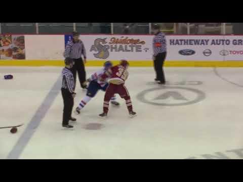 Logan Chisholm vs. Zachary L'Heureux