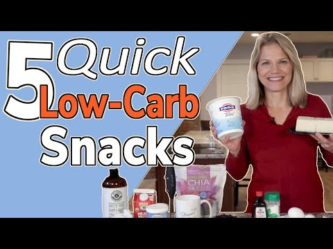 5 Quick Low-Carb Snacks