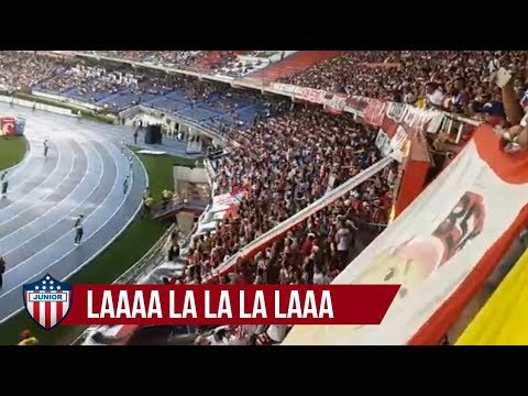 """LA LA LA LA - Los kuervos, Junior 3-0 Once Caldas liga aguila 2017"" Barra: La Banda de Los Kuervos • Club: Junior de Barranquilla"