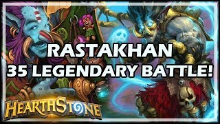 RASTAKHAN 35 LEGENDARY BATTLE! - Rastakhan's Rumble Hearthstone