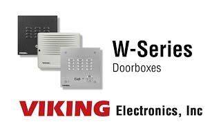 Viking's W-Series FXO Door Entry Phone