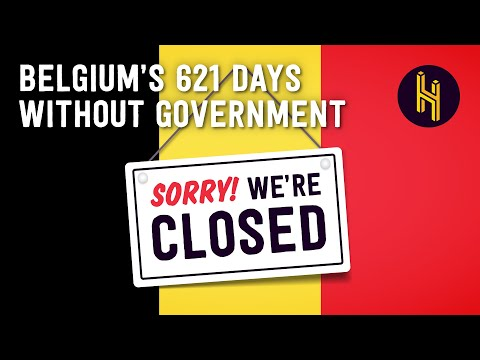 How Belgium Functioned For Two Years Without a Government