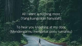 All I Want - Kodaline Cover by Alexandra Porat (Lirik dan terjemahan)