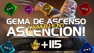 GEMA DE ASCENSO + ASCENCION con JOCTAC Marvel Batalla de Superheroes