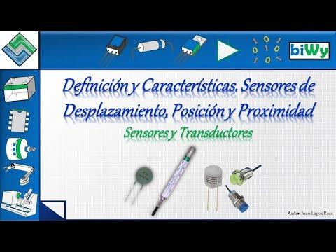 01 Sensores. Definición y Características. Sensores de Desplazamiento, Posición y Proximidad
