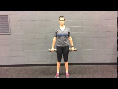 Dumbbell Bicep Curl Pronated Grip