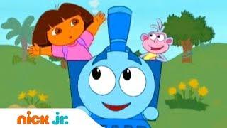 Даша-путешественница   Даша управляет поездом   Nick Jr. Россия