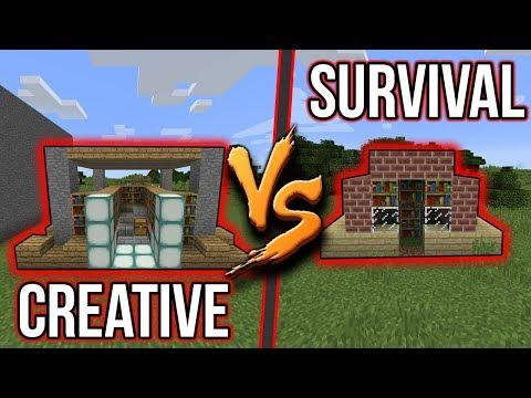 DŮM V SURVIVALU VS DŮM V CREATIVU !!! - #5 | BAUCHYČ VS MCCITRON