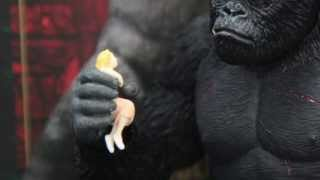 King Kong S.H.Monsterarts Bandai Action Figure Unboxing