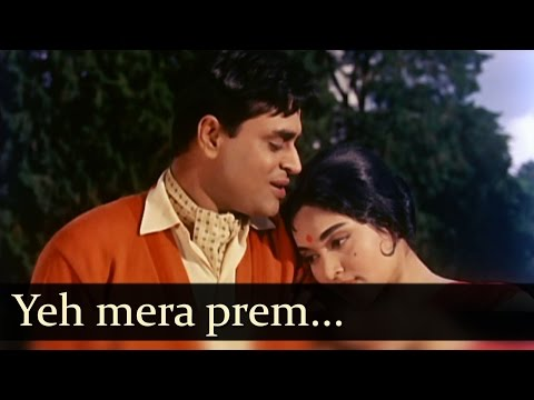 Download Sangam - Ye Mera Prem Patra Padhkar Ke Tum - Mohd Rafi HD Mp4 3GP Video and MP3