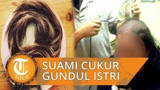 Pria Cukur Gundul Rambut Istrinya seusai Temukan Sehelai Rambut di Sarapan Paginya