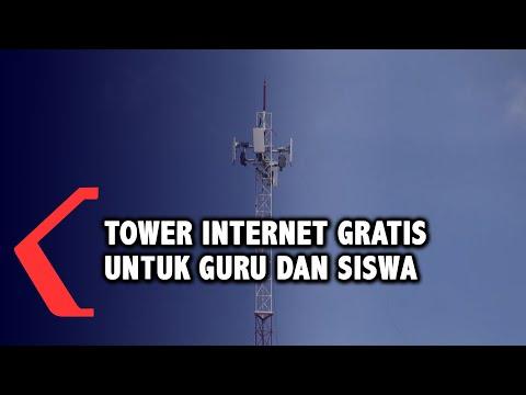 pemkot palembang siapkan tower internet gratis bagi guru dan siswa