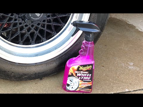 Meguiar's Hot Rims All Wheel Cleaner Review